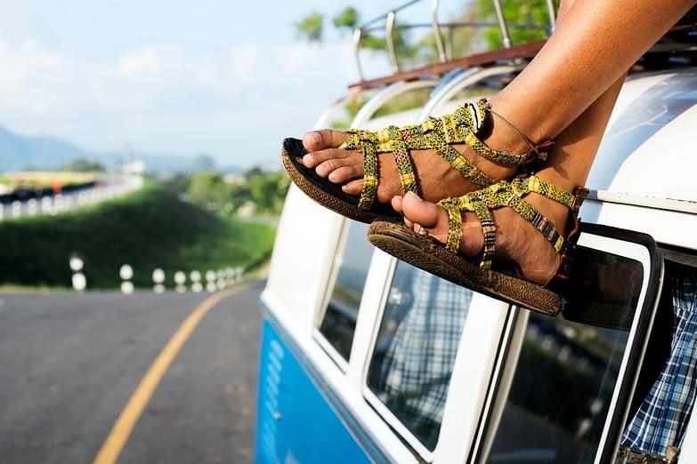 traveler's sandal